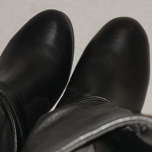 Kelly & Katie Shoes - Women's boots 6.5 leather ankle strap Kelly and ka